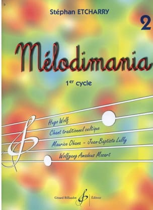 Melodimania Volume 2 Stephan Etcharry Partition laflutedepan
