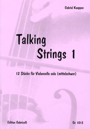 Gabriel Koeppen - Talking Strings 1 - Partition - di-arezzo.fr