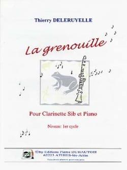 La Grenouille Thierry Deleruyelle Partition Clarinette - laflutedepan