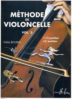 Odile Bourin - Cello-Methode Band 3 - Noten - di-arezzo.de