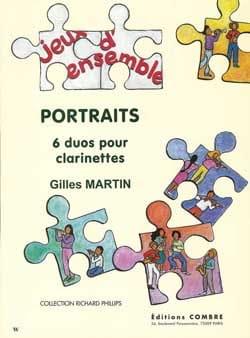 Gilles Martin - Portraits - Partition - di-arezzo.fr