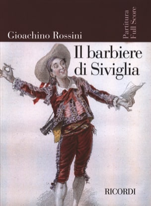 Il Barbiere di Siviglia ROSSINI Partition Grand format - laflutedepan