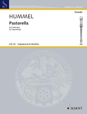 Bertold Hummel - Pastorella - Partition - di-arezzo.fr