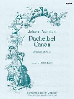 Johann Pachelbel - Canon - Violin - Sheet Music - di-arezzo.co.uk