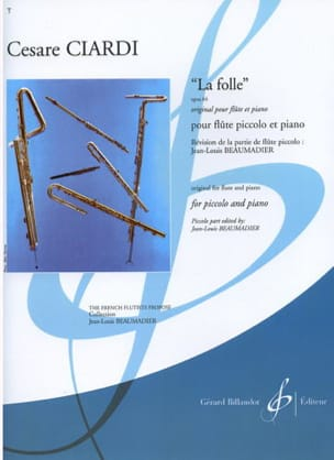 Cesare Ciardi - The mad op. 64 - Sheet Music - di-arezzo.com