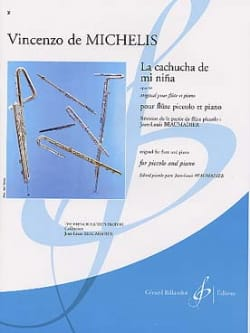 La cachucha de mi nina op. 64 Vincenzo de Michelis laflutedepan