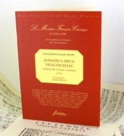 Jean-Baptiste Joseph Masse - Sonates à 2 Violoncelles (1736) - Partition - di-arezzo.fr