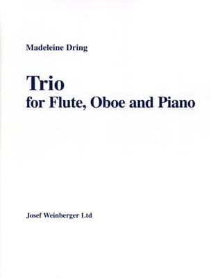 Madeleine Dring - trio - Partitura - di-arezzo.it