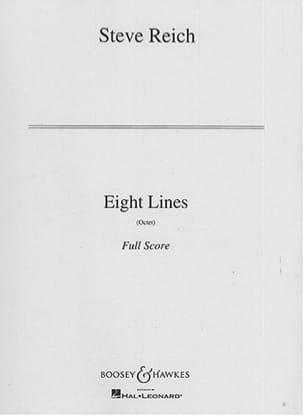 Eight Lines - Steve Reich - Partition - laflutedepan.com