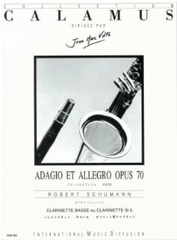 Adagio et Allegro op. 70 SCHUMANN Partition Clarinette - laflutedepan