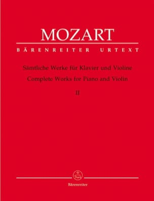 MOZART - complete works for violin and piano volume 2 - Sheet Music - di-arezzo.com