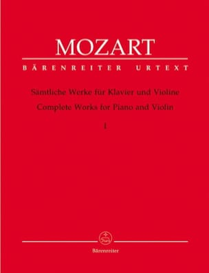 MOZART - Complete works for violin and piano volume 1 - Sheet Music - di-arezzo.co.uk