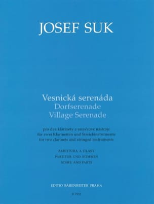 Joseph Suk - Village Serenade - Partition - di-arezzo.fr