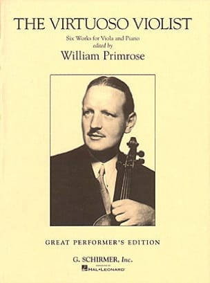 William Primrose - The virtuoso violist - Partition - di-arezzo.fr
