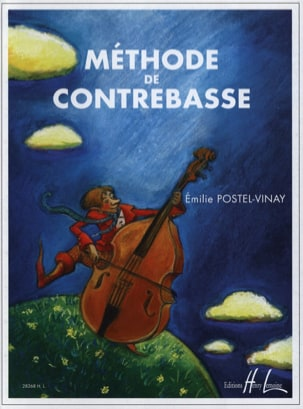 Méthode de contrebasse - Emilie Postel-Vinay - laflutedepan.com