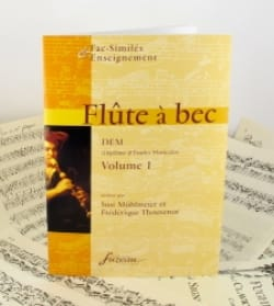 Möhlmeier Susi / Thouvenot Frédérique - Recorder, DEM - Volume 1 - Sheet Music - di-arezzo.co.uk