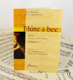 Möhlmeier Susi / Thouvenot Frédérique - Flûte à bec, DEM - Volume 2 - Partition - di-arezzo.fr
