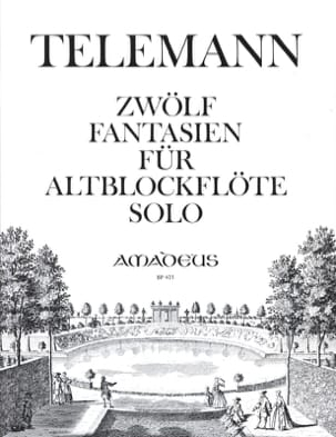 TELEMANN - 12 Fantasy - Altblockflöte solo - Sheet Music - di-arezzo.co.uk
