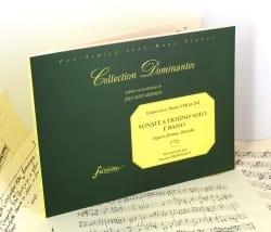 Francesco Maria Veracini - Sonate a violino solo et basso, opera prima - Partition - di-arezzo.fr