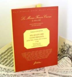 François Devienne - 6 Quatuors concertants - Partition - di-arezzo.fr