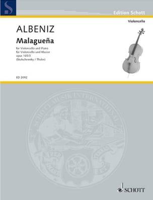 Isaac Albeniz - Malaguena op. 165 n° 3 - Partition - di-arezzo.fr