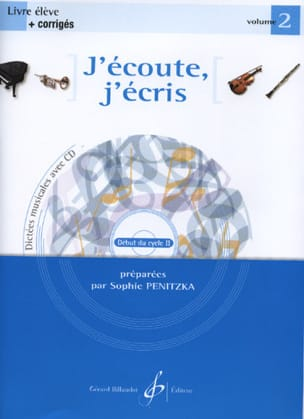 Sophie Penitzka - I listen, I write Volume 2 - Sheet Music - di-arezzo.co.uk