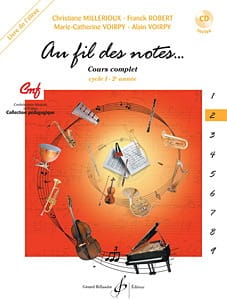 Au Fil des Notes - Volume 2 - Elève laflutedepan