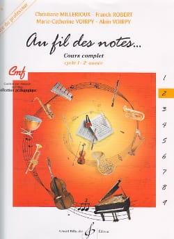 Au Fil des Notes - Volume 2 - Professeur - laflutedepan.com