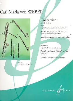 Carl Maria von Weber - Concertino in Eb major op. 26 - Sheet Music - di-arezzo.co.uk