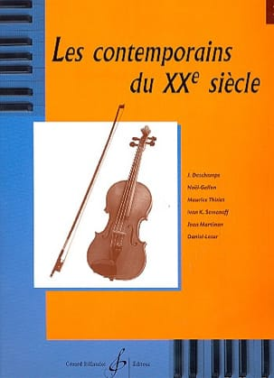 20ème Contemporains - The Contemporaries Of The 20th Century Volume 2 - Sheet Music - di-arezzo.com