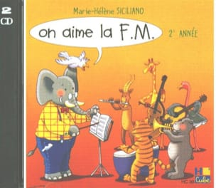 SICILIANO - CD - On Aime la FM Volume 2 - Partition - di-arezzo.fr