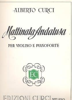 Alberto Curci - Mattinata Andalusa - Partition - di-arezzo.fr