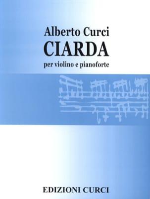 Alberto Curci - Ciarda - Sheet Music - di-arezzo.co.uk