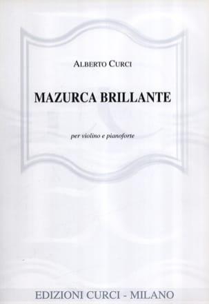 Alberto Curci - Mazurca Brillante - Partition - di-arezzo.fr