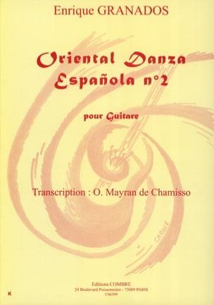 Enrique Granados - Oriental Danza Espanola Nr. 2 - Noten - di-arezzo.de