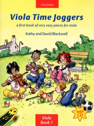 Viola Time Joggers Book 1 Partition Alto - laflutedepan