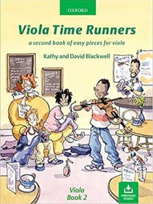 Viola Time Runners Book 2 Partition Alto - laflutedepan