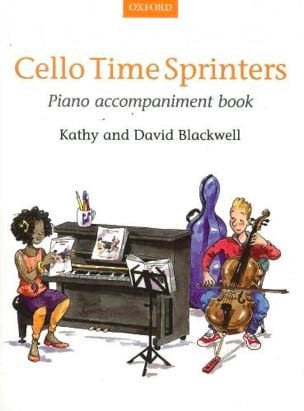 - Cello Time Sprinters - Piano Accompagnement - Partition - di-arezzo.fr