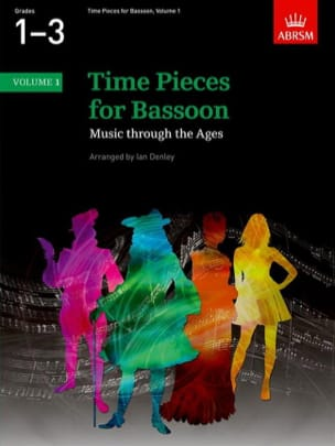 Time pieces for bassoon - Volume 1 Ian Denley Partition laflutedepan