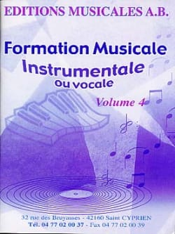 AB - Instrumental or vocal FM, Volume 4 - Sheet Music - di-arezzo.com