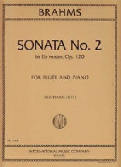 Sonata n° 2 in Eb major op. 120 - Flute piano - laflutedepan.com