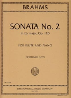 Sonata n° 2 in Eb major op. 120 - Flute piano BRAHMS laflutedepan