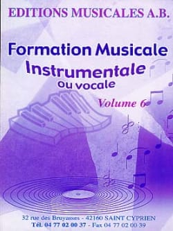 Ab - Instrumental or vocal FM, Volume 6 - Sheet Music - di-arezzo.com