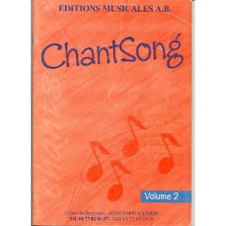 AB - Chantsong - Volume 2 - Sheet Music - di-arezzo.com