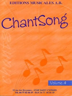 Chantsong - Volume 4 AB Partition Solfèges - laflutedepan