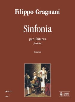 Sinfonia - Filippo Gragnani - Partition - Guitare - laflutedepan.com