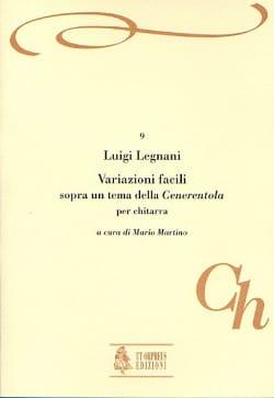 Variazioni facili - Luigi Rinaldo Legnani - laflutedepan.com