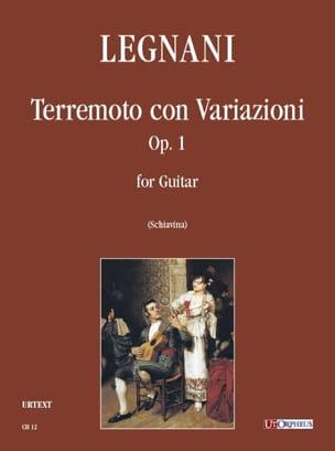 Terremoto con variazioni, op. 1 Luigi Rinaldo Legnani laflutedepan