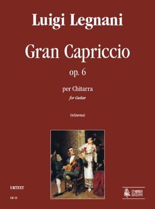 Gran capriccio op. 6 Luigi Rinaldo Legnani Partition laflutedepan