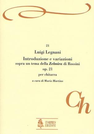 Luigi Rinaldo Legnani - Introduzione e variazioni, op. 21 - Partition - di-arezzo.fr